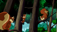 Ben 10 Omi Squirrels