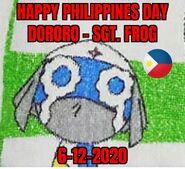 Happy Philippines Day 2020 Sgt Frog Dororo