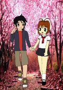 Hiro Hamada and Sakura