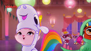 Mrs Dreamy in her unicorn costume