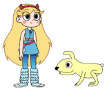 Star meets Snowshoe Hare