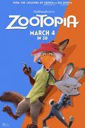 Zootopia (TheBluesRockz Style) Poster