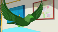 Beast Boy as Eagle