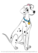 How-to-draw-Perdita-from-101-Dalmations-step-0