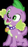Spike pup by serendipony-d668f9d