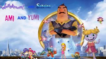 Wallykazam And Sabrina And Ami And Yumi Sonic The Hedgehog 2020 The Parody Wiki Fandom