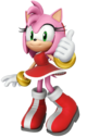 Amy Rose Thumbs Up