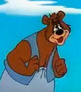 Barney Bear in the Barney Bear Shorts