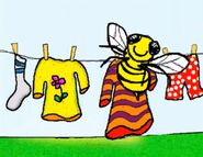 Bee-on-clothesline-jumpstart-preschool