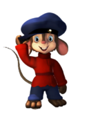 Fievel Mousekewitz 3D wTail