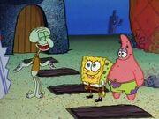 The Time Machine Patrick Spongebob Squidward
