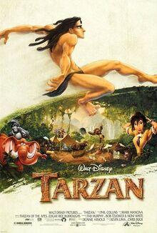 Tarzan English Poster