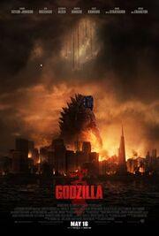 Godzilla (2014) poster MF17