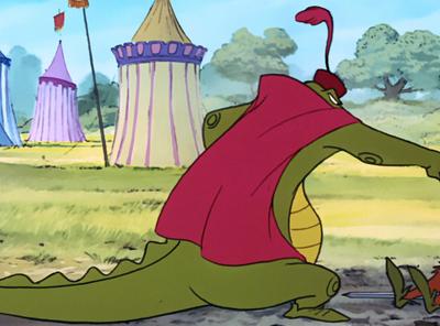 Captain Crocodile gots struck