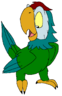 Leif the Parrot