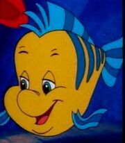 Flounder in The Little Mermaid