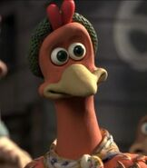 Ginger in Chicken Run