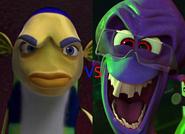 Oscar vs Dave the Octopus
