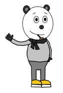 Panda 'Pandy' Smoochie (winter clothes) (pipe)
