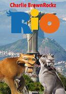 Rio (Charlie BrownRockz Style, 2011; Movie Poster)