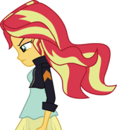 Sunset shimmer vector by owlestyle-d8pvy13