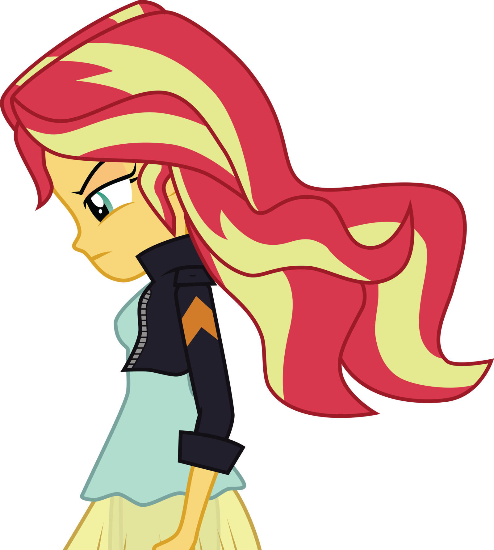image sunset shimmer vector by owlestyle d8pvy13 png the parody