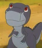 Chomper in The Land Before Time 5 The Mysterious Island