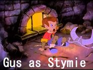 Gus (from A Troll In Centural Park) as Stymie