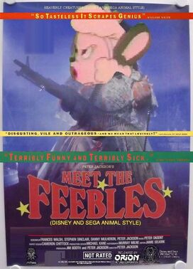 Meet the Feebles (Disney and Sega Animal Style) Poster