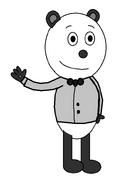 Panda 'Pandy' Smoochie (tuxedo suit)
