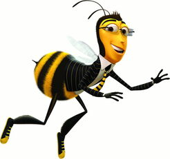 Adam flying bee movie