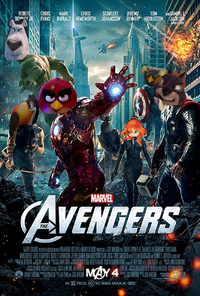 The Avengers (2012) (LUIS ALBERTO VIDEOS GALVAN PONCE Style) (Poster)