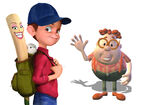 Carl Wheezer and Yankee Irving