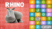 Clay Rhinoceros