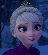 Elsa in Kingdom Hearts III