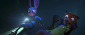 Judy and nick gets scared at emmit