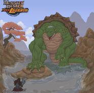 Monster hunter yokai legends kappa by uniquetechnique-d58z4w2