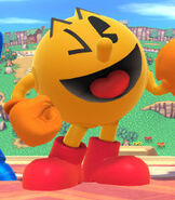 Pac-Man in Super Smash Bros. for Wii-U and 3DS