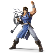 Richter smash bros