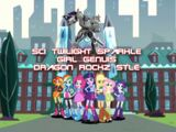 Sci Twilight Sparkle Girl Genius (Dragon Rockz Style)