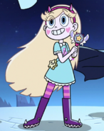 Star butterfly wand