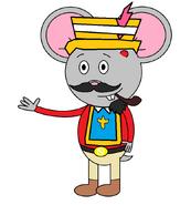 Mr. Einstein Hamster (Third Musketeer) (pipe)