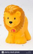 Fisher Price Little People African Lion