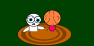 Geo guy and little guy in quicksand by 123emilymason-d9h0aj0