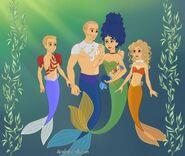 Simpsons mermaids