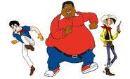 Speed Racer, Fat Albert and Lucky Luke