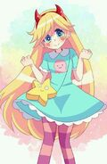 Star butterfly anime character