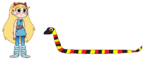 Star meets Coral Snake