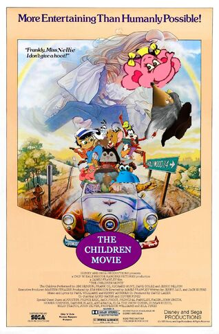 The Children Movie (The Muppet Movie) Poster