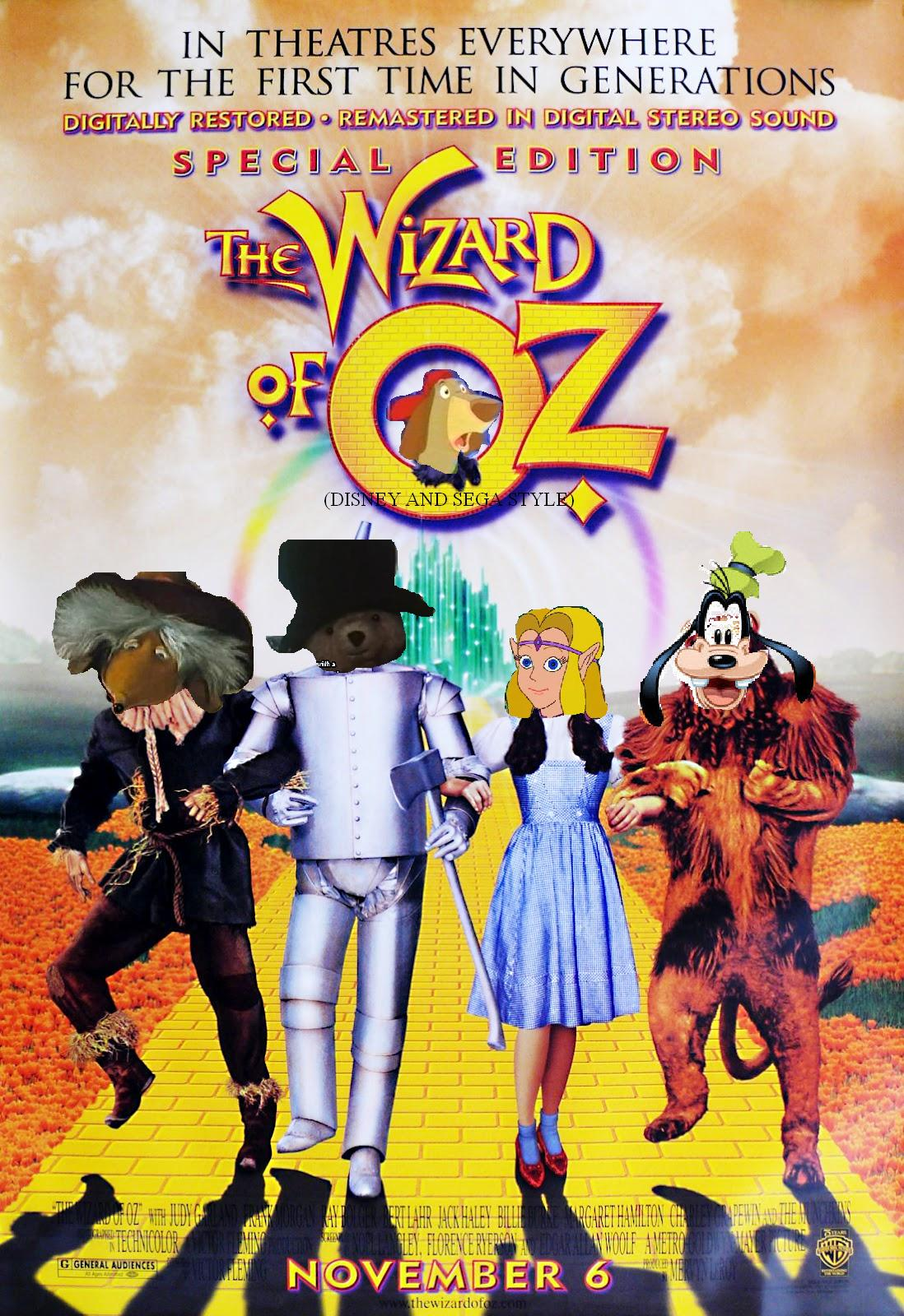 The Wizard Of Oz Disney And Sega Style The Parody Wiki Fandom